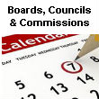 Boards, Councils & Commissions