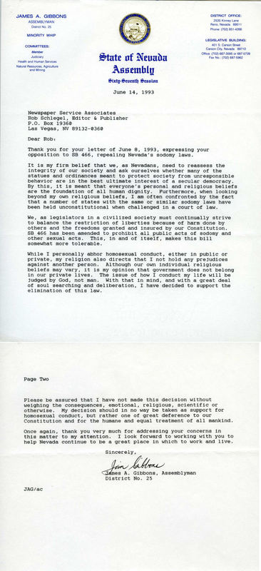 Jim Gibbons Letter for Reference