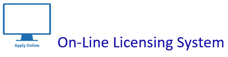 Click Here to be Directed to The Online Licensing System